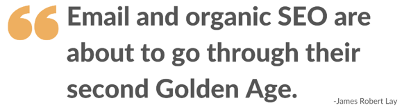 Email and organic SEO: second Golden Age