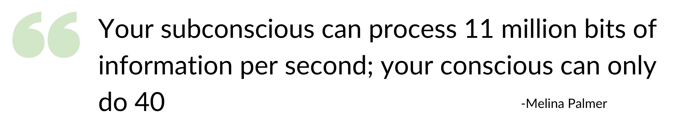 Subconscious brain processes more than your concious